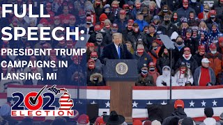 Full speech: President Trump campaigns in Lansing, Michigan