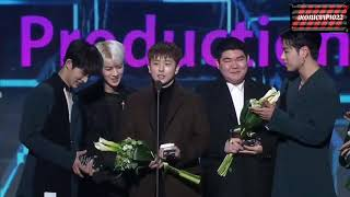 iKON | 190123 GAON MUSIC AWARDS 2018 -iKON WIN THE BEST RECORD PRODUCTION OF THESE YEAR