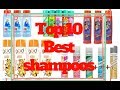 Top 10 Best shampoos 2018