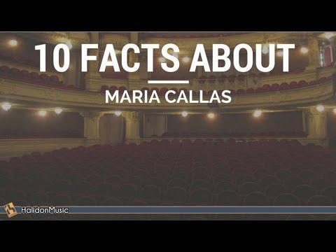 Maria Callas - 10 Facts About Maria Callas | Classical Music