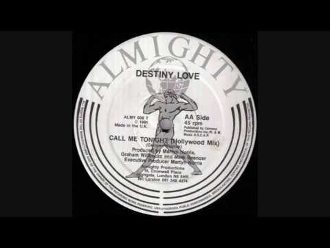 Destiny Love - Call Me Tonight (Hollywood Almighty Mix)