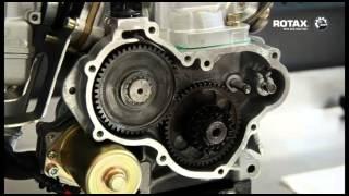 Contrôle du balancier d'équilibrage   moteur Rotax