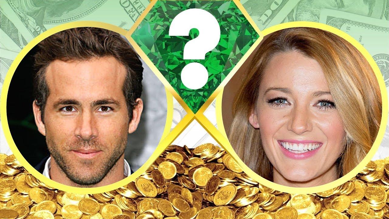 WHO'S RICHER? - Ryan Reynolds or Blake Lively? - Net Worth ...