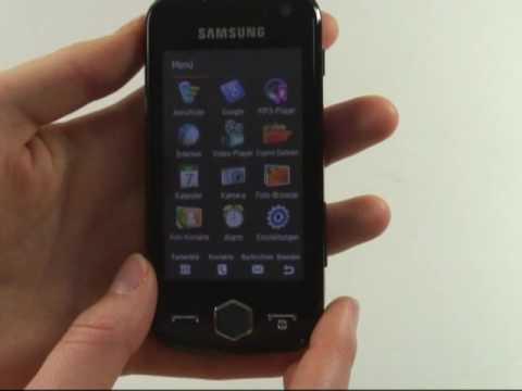 Samsung S8000 Jet Test Bedienung