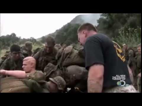 US Marine and Force Recon Marine Training