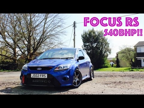 Super fast 540bhp Ford Focus RS MK2!! - YouTube