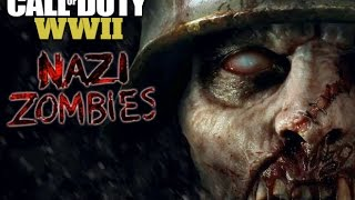 Call of Duty: WWII Reaction video possibly zombies?