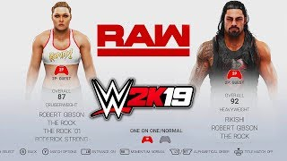 WWE 2K19 ROSTER! ALL DLC, RATINGS, IN-GAME RENDERS & MANAGERS! *MUST WATCH*