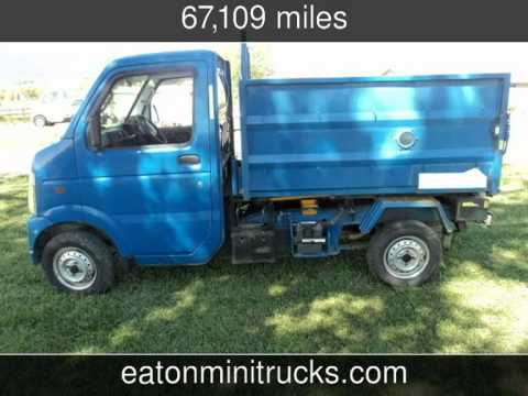 2004 Suzuki Carry 4x4 dump bed Used Cars - Eaton,CO - 2014 ...