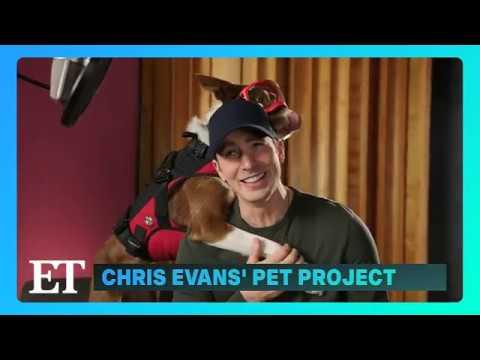 Superpower Dogs 3D - Entertainment Tonight clip ft Chris Evans