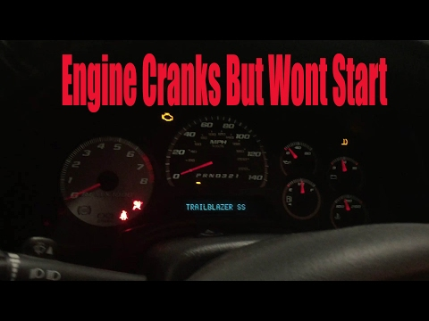 Engine Cranks But Wont Start