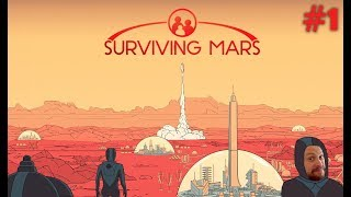 Первая вылазка на планету Марс Surviving Mars 1