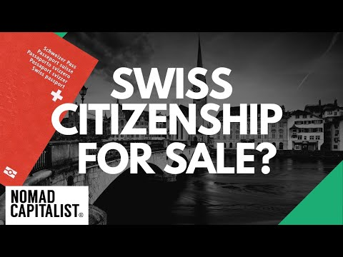 Should Swiss Citizenship be for Sale?