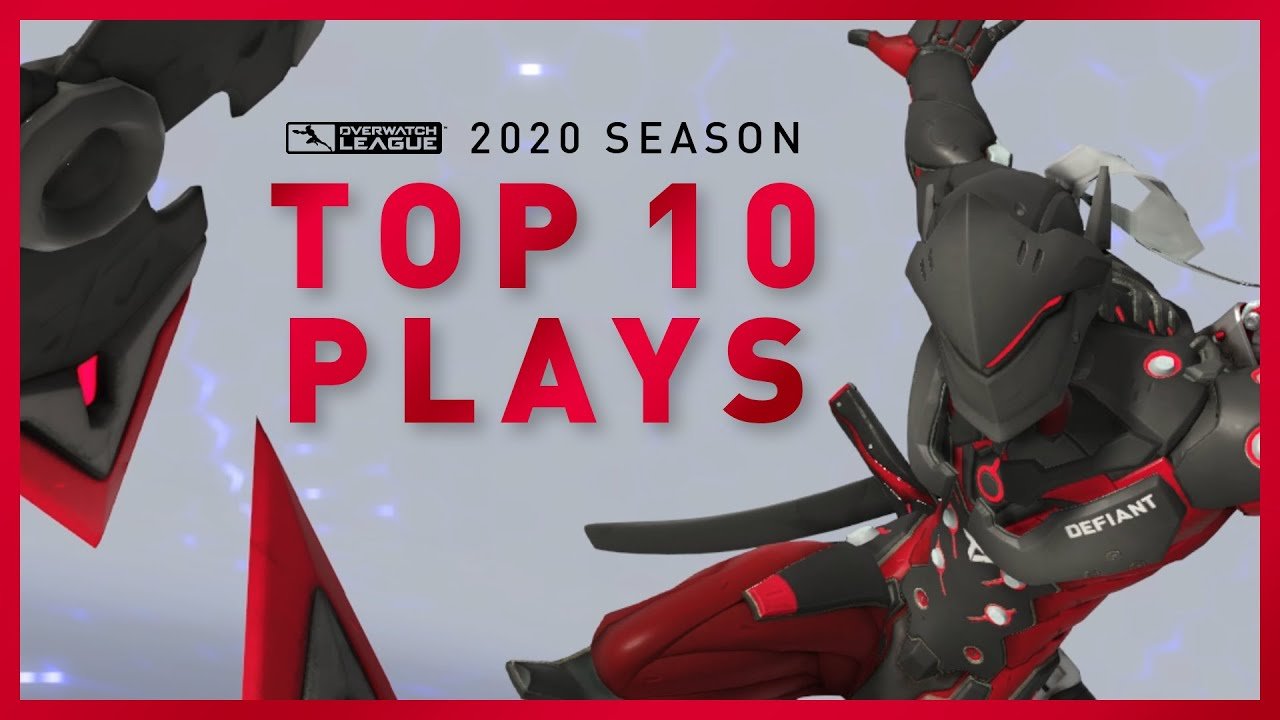 TOP 10 Defiant Plays of the 2020 OVERWATCH LEAGUE Season!