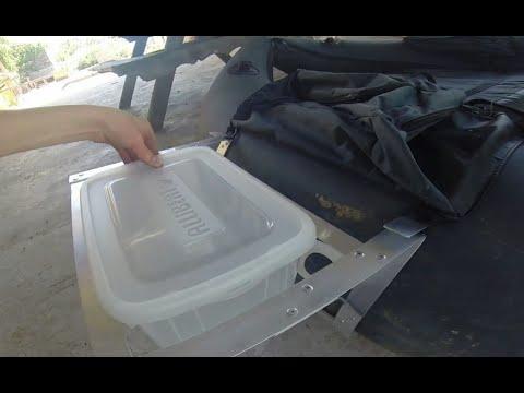 Comment fabriquer un repose canne pour float-tube | Partie 1