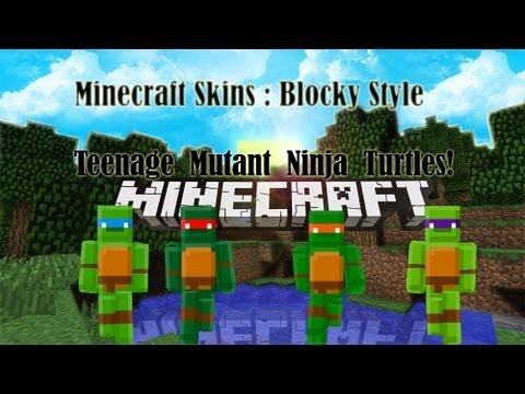 Teenage Mutant Ninja Turtle | Minecraft Skins
