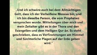 Wieso habt ihr Zweifel an den Messias? Zitate des Messias Mirza Ghulam Ahmad