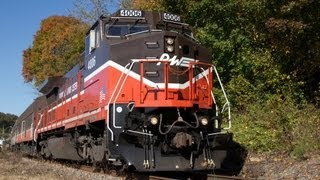 MBRRE Willimantic Special on the P&W, 10-13-12