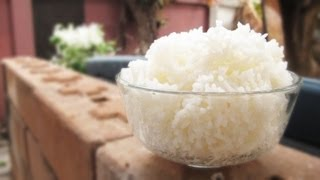 Perfect Thai Jasmine Rice Without Rice Cooker วิธี