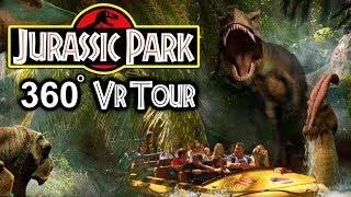 JURASSIC PARK THE RIDE IN VR!!! (5K)