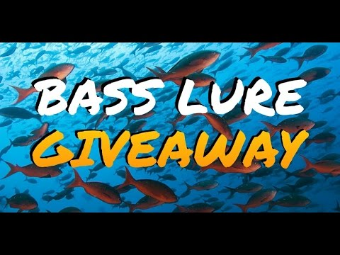 how to get free fishing gear - big bass bait & lure giveaway - youtube, Fishing Reels