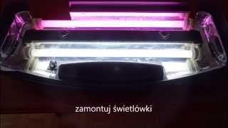 Pokrywa Akwarium + Folia Aluminiowa - Aluminum Foil Aquarium Reflector