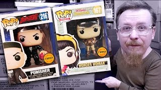 Epic 2 Chase Funko Pop Vinyl Figures Found In 9 Funko Factory Cases Video