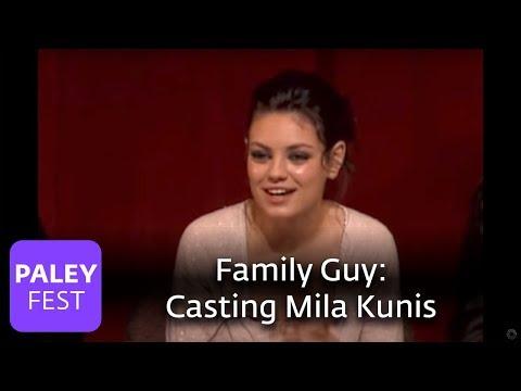 Family Guy - Casting Mila Kunis