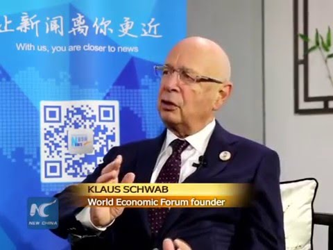 "Klaus Schwab: China to play big role in tech innovation ""tsunami"""