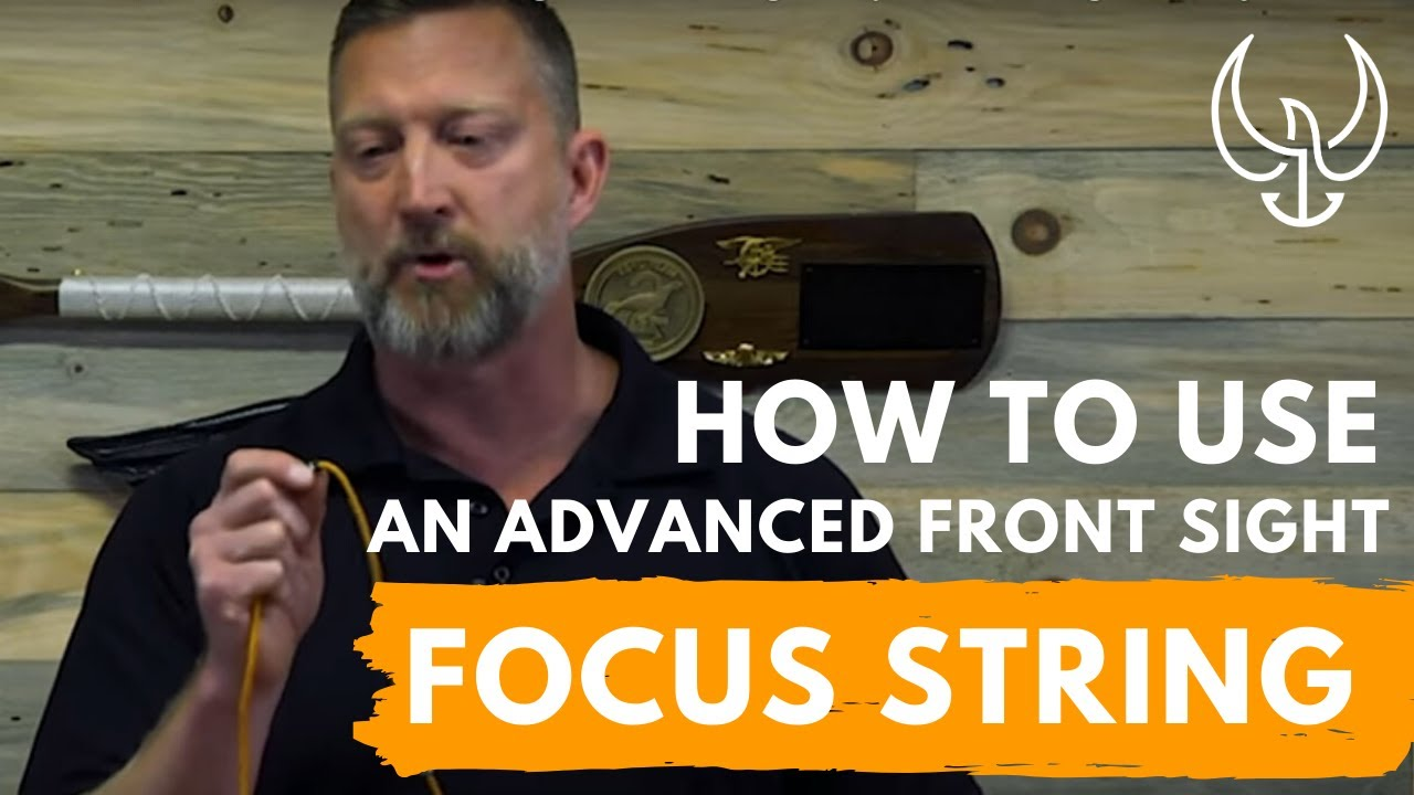599233013c How to Use an Advanced Front Sight Focus String to Improve Shooting  Accuracy. Chris Sajnog