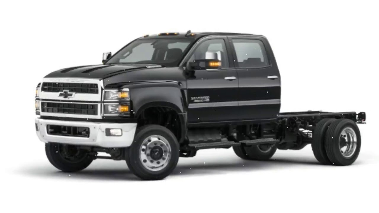 Chevy 5500 Hd >> 2019 Chevy Silverado 4500hd 5500hd And 6500hd Commercial Trucks Priced From 48 465