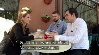 Eurovision – dörröppnare för HBTQ i Ukraina - Nyheterna (TV4)