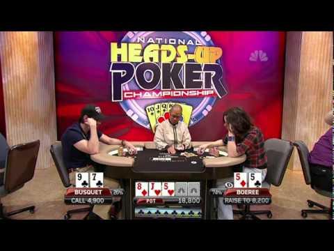 2011 National Heads-Up Poker Championship Episode 4 HD
