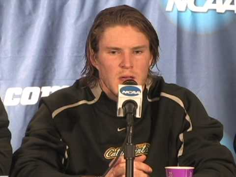 Men's Hockey NCAA West Regional: Media Day - Stude...