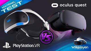 OCULUS QUEST vs PSVR - Graphics + Display, Tracking