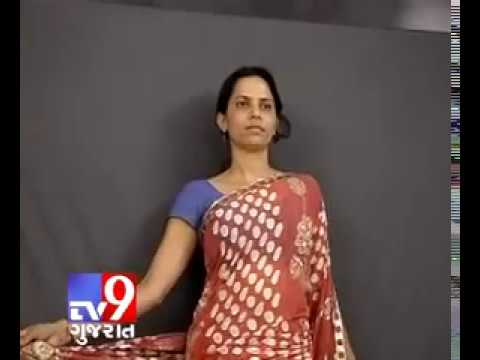 TV9 Gujarat   Model changes 500 sarees in a day in Surat