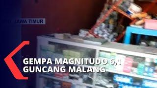 BREAKING NEWS - Gempa Magnitudo 6,1 Guncang Malang, Pengunjung Mal Panik Selamatkan Diri