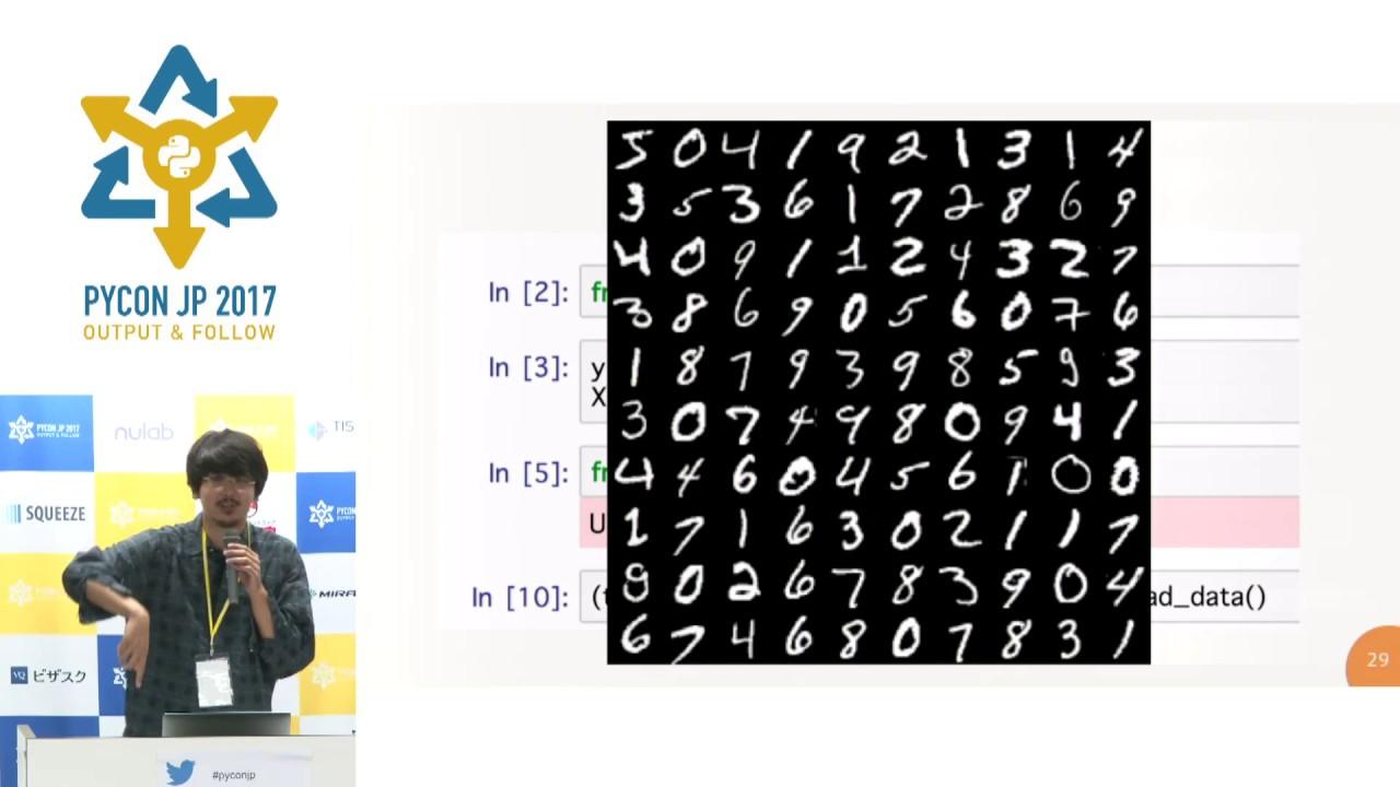 Image from 機械学習におけるデータの再現性について (Yuichiro Someya) - PyCon JP 2017