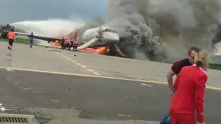 Russian jet accident Moscow