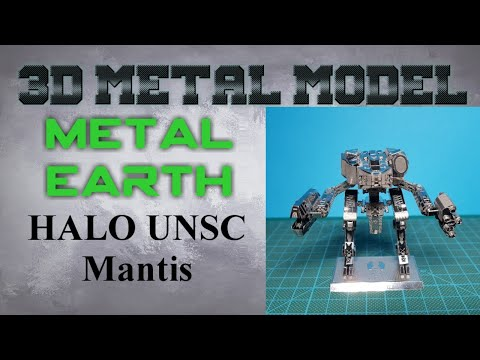 Metal Earth Build - Halo UNSC Mantis