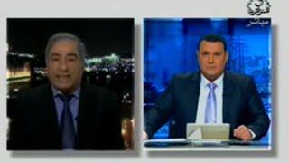 معارض سوري يهاجم وزير الخارجية الجزائري  لعمامرة  على التلفزيون الرسمي