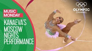 Evgenia Kanaeva's sensational Rhythmic Gymnastics routine to Moscow Nights | Music Monday