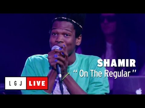 Shamir - On the Regular (First TV) - Live du Grand Journal
