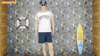 Leisure swim trunk men swimwear OEM service BST0269