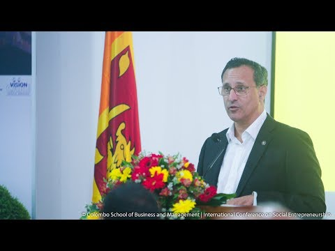 Identifying the need for Business Incubation  by Mr. Michael Moonesinghe