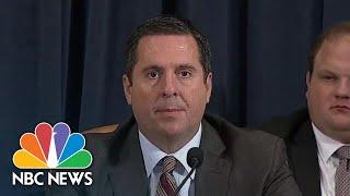 Nunes Calls Media 'Puppets Of The Democratic Party' | NBC News