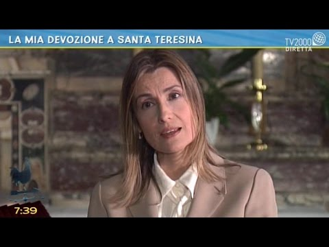 La devozione a Santa Teresina di Claudia Koll