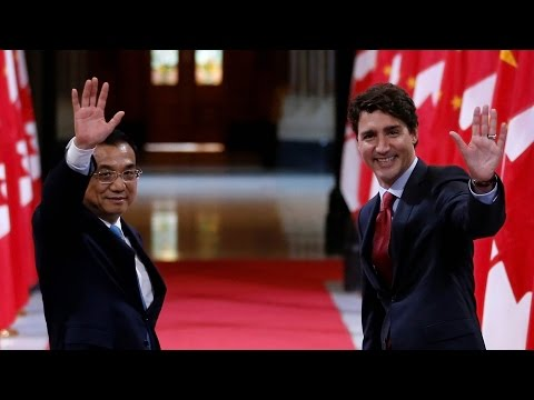 Trudeau outlines new Canada-China trade deals