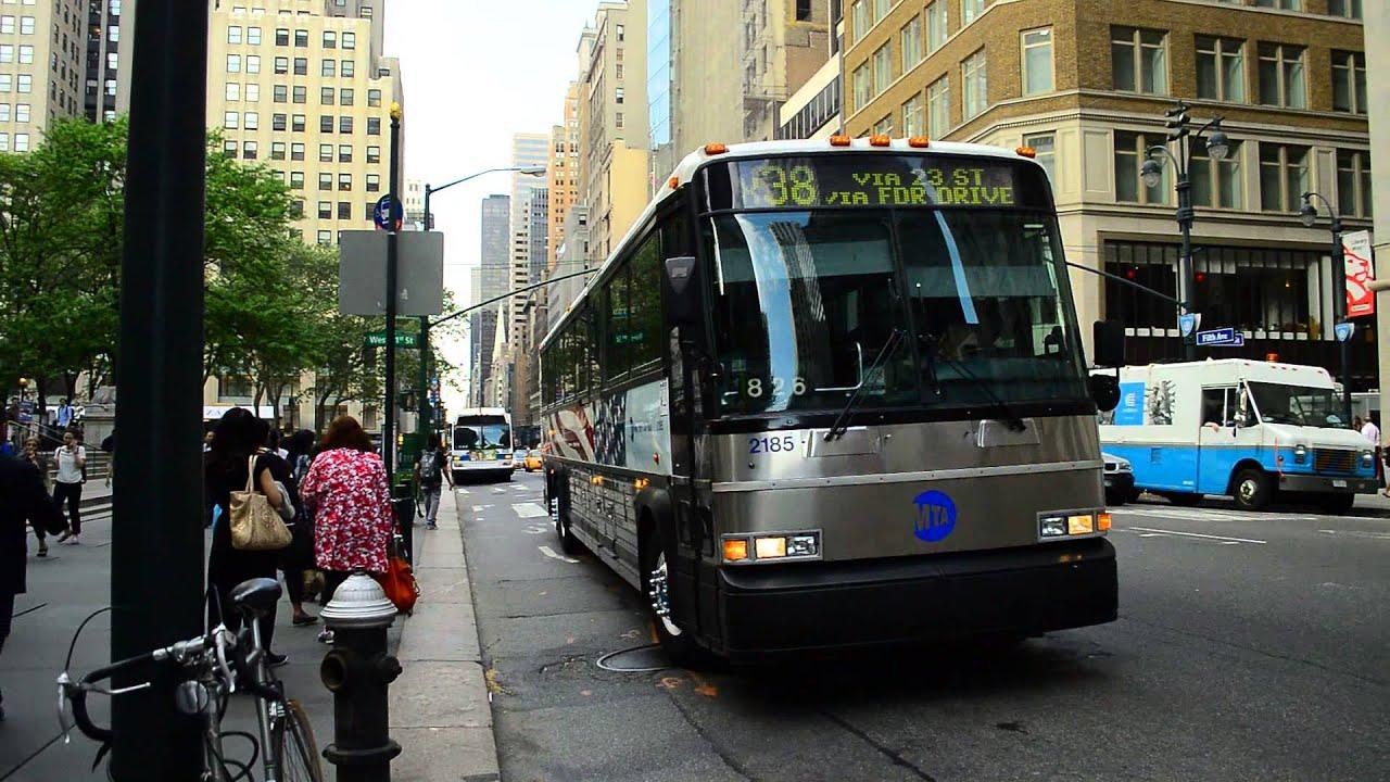 Detroit Diesel Series 60 >> MTA New York City Bus 2001 MCI D4500 2185 (9/11 Tribute ...