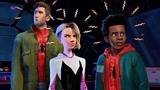Yeni Spider-Man'le Tanışın (gizli sahne açıklandı - spiderverse)